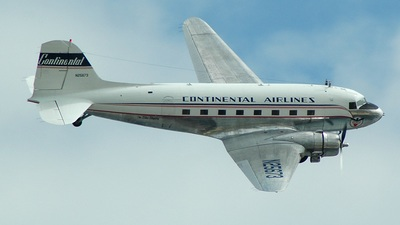 N25673 - Douglas DC-3A - Continental Airlines