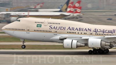 TF-AMS - Boeing 747-481 - Saudi Arabian Airlines (Air Atlanta Icelandic)