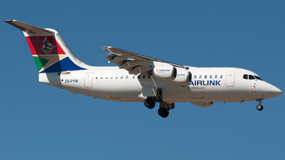 ZS-PYM - British Aerospace BAe 146-200 - Airlink