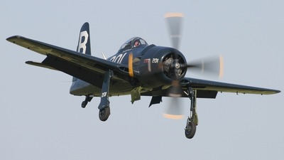 G-RUMM - Grumman F8F-2P Bearcat - Private