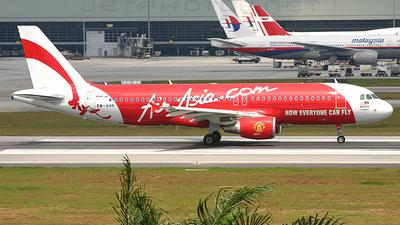 9M-AHK - Airbus A320-216 - AirAsia