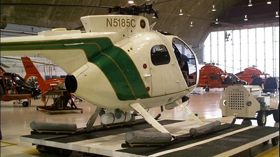 N5185C - Hughes OH-6 - United States - Border Patrol