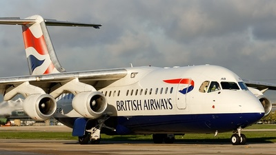 G-CFAB - British Aerospace Avro RJ100 - British Airways (CitiExpress)