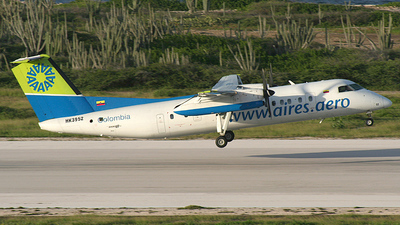 HK-3952 - Bombardier Dash 8-301 - Aires Colombia