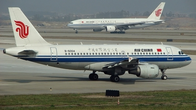 B-6004 - Airbus A319-115 - Air China