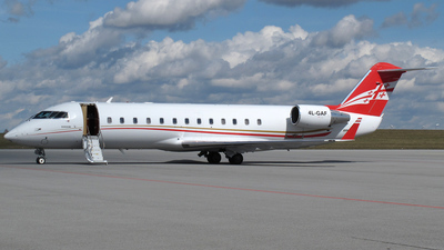 4L-GAF - Bombardier CL-600-2B19 Challenger 850 - Georgian Airways