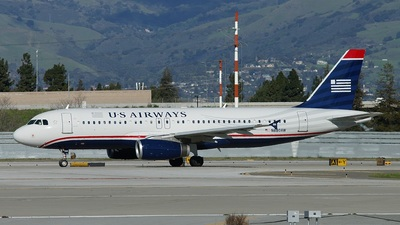N680AW - Airbus A320-232 - US Airways (America West Airlines)