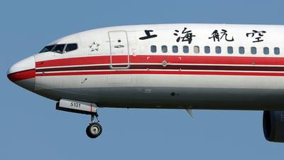 B-5131 - Boeing 737-8Q8 - Shanghai Airlines