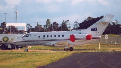 VH-SGY - Raytheon Hawker 800XP - Australia - Queensland Government