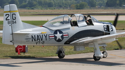 NX194RR - North American T-28B Trojan - Private