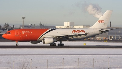 OO-TZA - Airbus A300B4-203(F) - TNT Airways