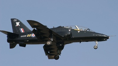 XX228 - British Aerospace Hawk T.1A - United Kingdom - Royal Air Force (RAF)
