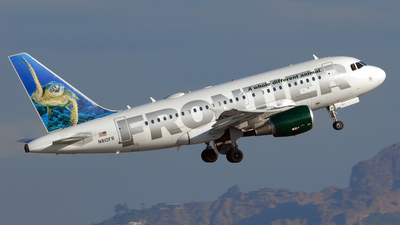 N810FR - Airbus A318-111 - Frontier Airlines