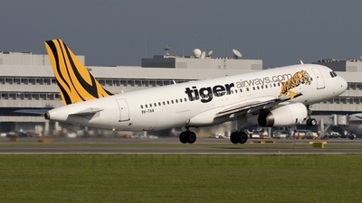 9V-TAA - Airbus A320-232 - Tiger Airways