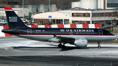N744US - Airbus A319-112 - US Airways