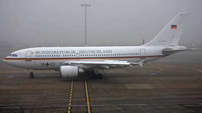 10-22 - Airbus A310-304 - Germany - Air Force