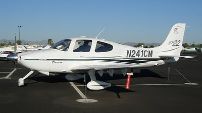 A picture of N241CM - Cirrus SR22 - [0357] - © Sun Valley Aviation
