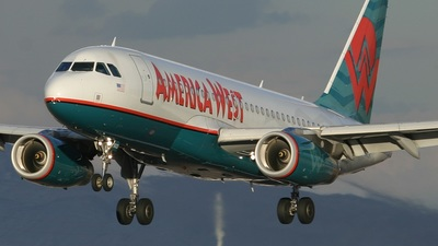 N822AW - Airbus A319-132 - America West Airlines