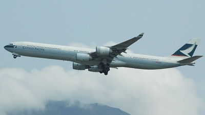 B-HQB - Airbus A340-642 - Cathay Pacific Airways