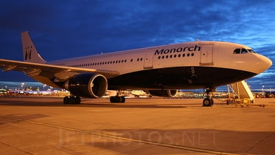 G-MONS - Airbus A300B4-605R - Monarch Airlines