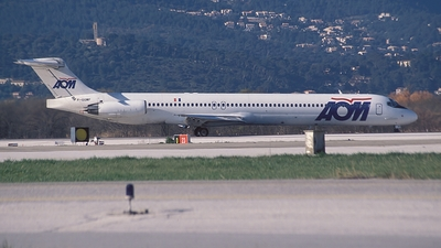 F-GGMF - McDonnell Douglas MD-83 - AOM French Airlines