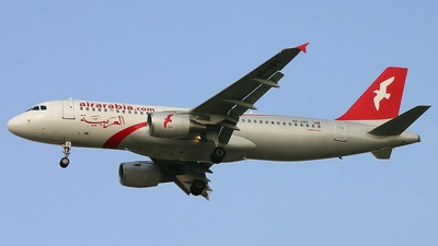A6-ABG - Airbus A320-214 - Air Arabia