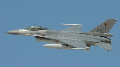 FA-125 - General Dynamics F-16AM Fighting Falcon - Belgium - Air Force