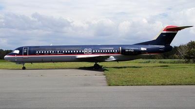 VH-FKD - Fokker 100 - Alliance Airlines