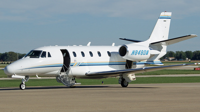 A picture of N848DM - Cessna 560XL Citation Excel - [5605329] - © Doug Wolfe