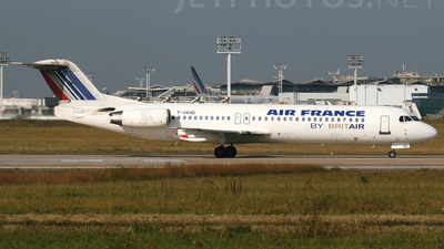 F-GKHD - Fokker 100 - Air France (Brit Air)