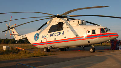 RF-32821 - Mil Mi-26 Halo - Russia - Ministry for Emergency Situations (MChS)