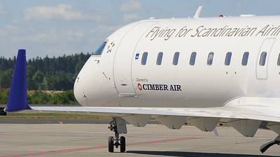 OY-RJE - Bombardier CRJ-100LR - Scandinavian Airlines (Cimber Air)