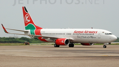 5Y-KYC - Boeing 737-8AL - Kenya Airways
