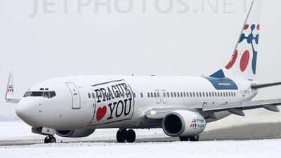 OK-TVB - Boeing 737-8CX - Travel Service