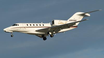 N953QS - Cessna 750 Citation X - NetJets Aviation