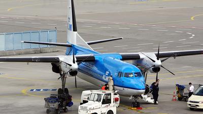 PH-KVG - Fokker 50 - KLM Royal Dutch Airlines