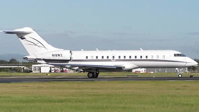 N18WZ - Bombardier BD-700-1A10 Global Express - Private