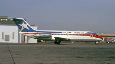 N9102 - McDonnell Douglas DC-9-14 - Texas International Airlines