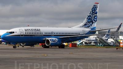 VQ-BER - Boeing 737-7L9 - Moskovia Airlines
