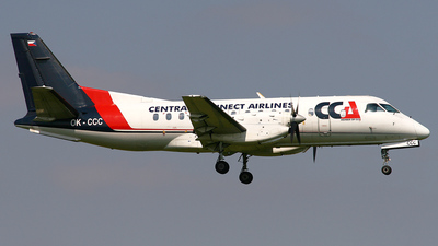 OK-CCC - Saab 340B - Central Connect Airlines
