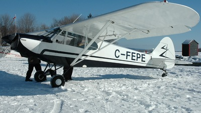 C-FEPE - Piper PA-18-135 Super Cub - Private