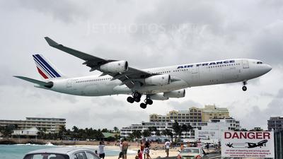 F-GLZJ - Airbus A340-313X - Air France