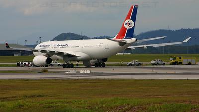 7O-ADT - Airbus A330-243 - Yemenia - Yemen Airways