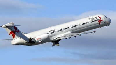 SE-DLV - McDonnell Douglas MD-83 - Flynordic