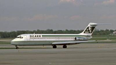N982PS - McDonnell Douglas DC-9-31 - Ozark Air Lines