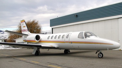 N398LS - Cessna 550B Citation Bravo - Private