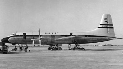 G-ANBE - Bristol Britannia - British Overseas Airways Corporation (BOAC)