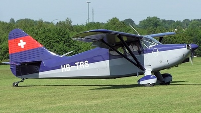 HB-TRS - Stinson 108 Voyager - Private