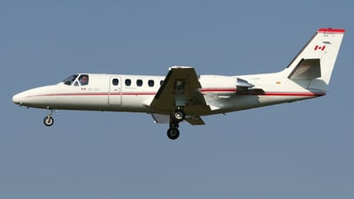 A picture of CFKDX - Cessna 550 Citation II - Transport Canada - © Barry Shipley
