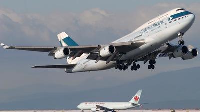 B-HOP - Boeing 747-467 - Cathay Pacific Airways